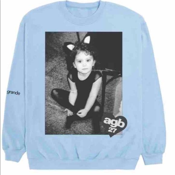 NEW AGB27 Ariana Grande sweatshirt
